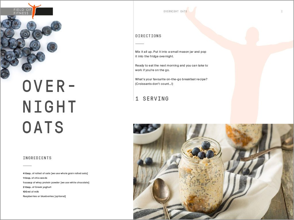 Field of Fitness Recipe Book