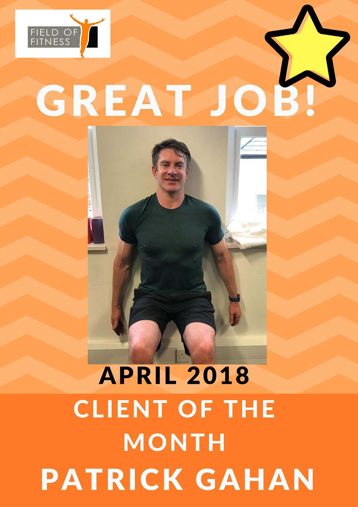 Field of Fitness - April member of the month