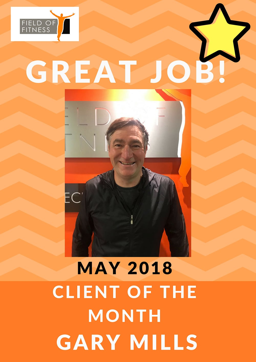 Field of Fitness - May member of the month
