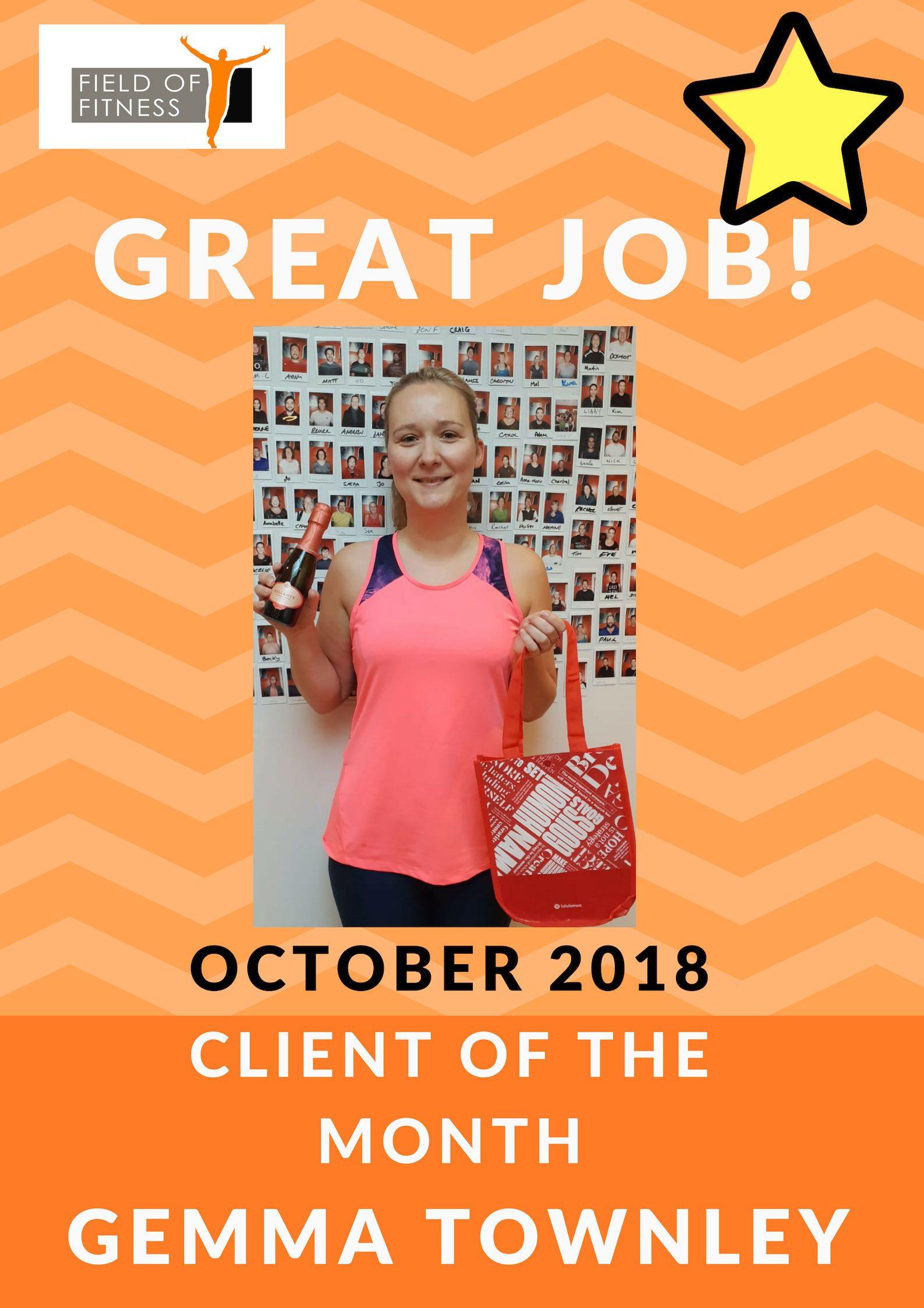 October Member of the month - Debra
