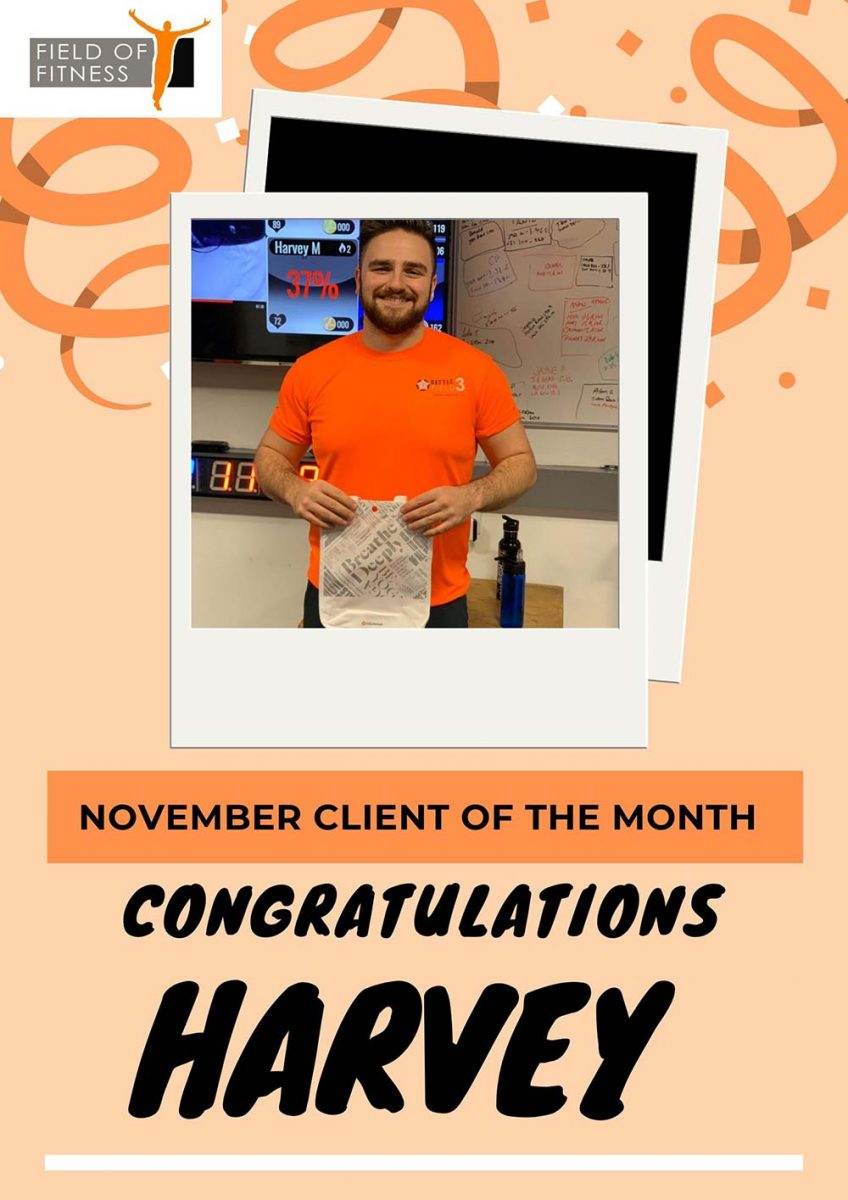 Member of The Month - Harvey