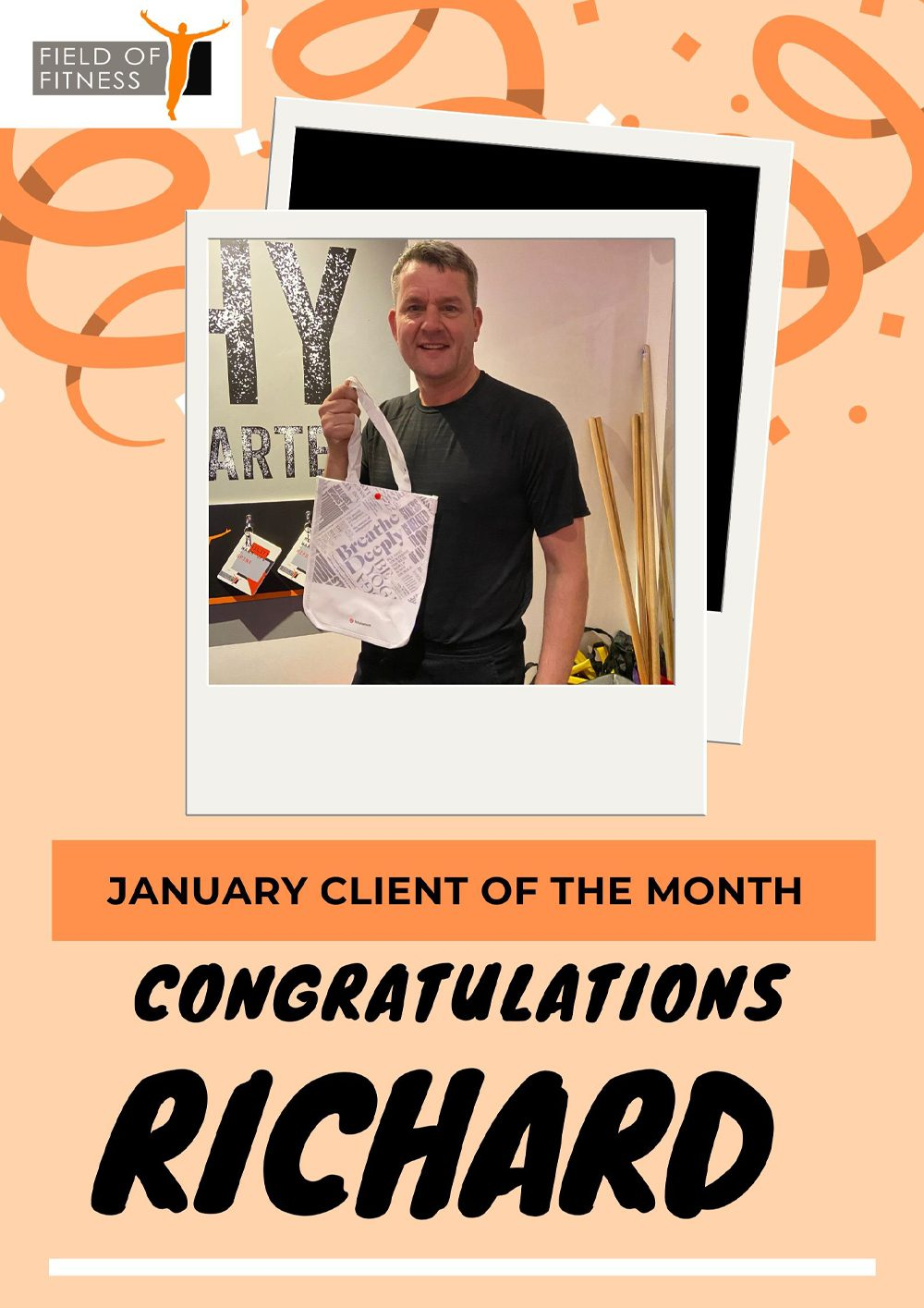 Member of The Month - Richard