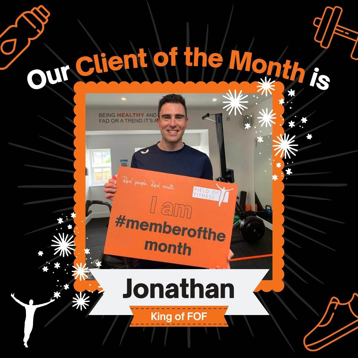 Jonathan - Client of the Month