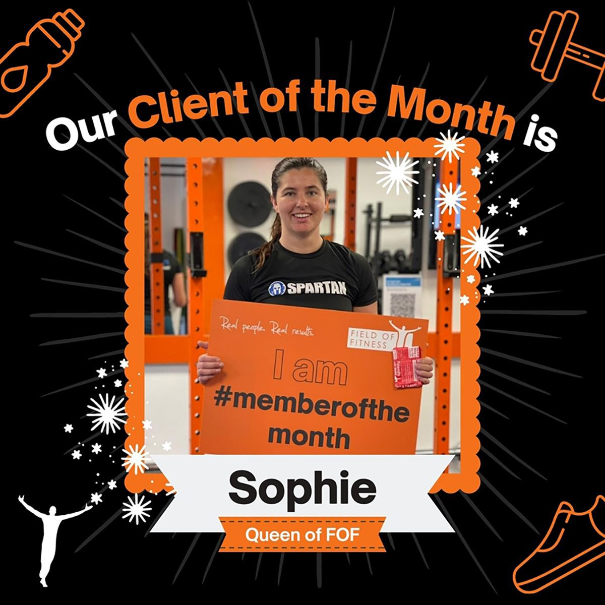 Sophie - Client of the Month