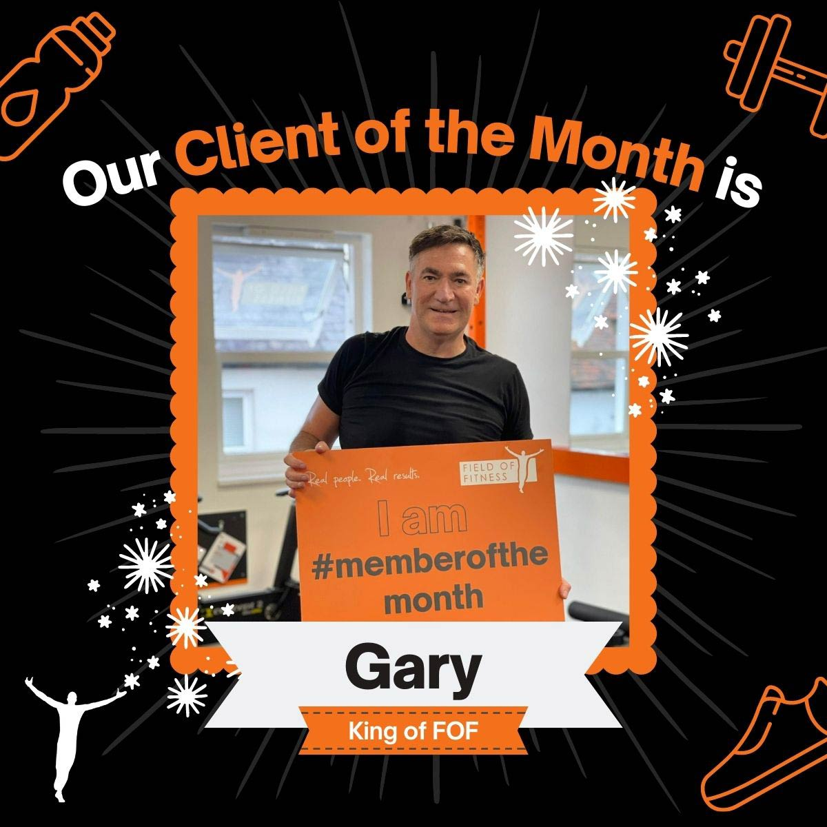 Gary - Client of the Month